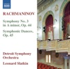 Rachmaninoff Symphony No 3 Symphonic Dances