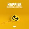 Marshmello & Bastille - Happier  artwork