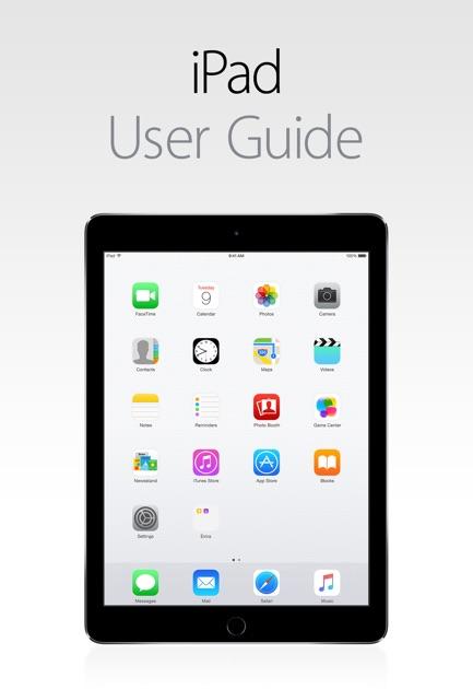 Apple user guide ipad mini