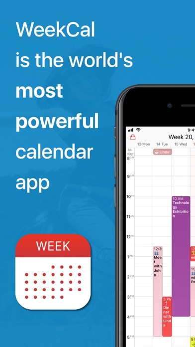 Week Calendar: Schedule Agenda Screenshots