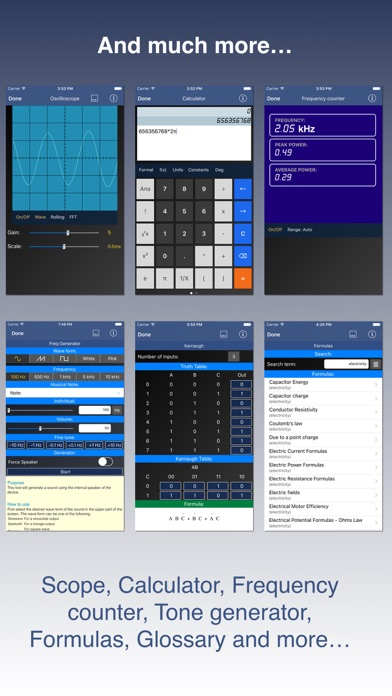Electronic Toolbox Pro Screenshots