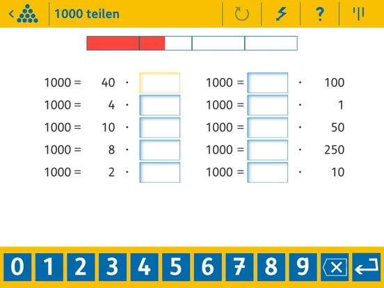 Calculightning 3 - Maths Screenshots