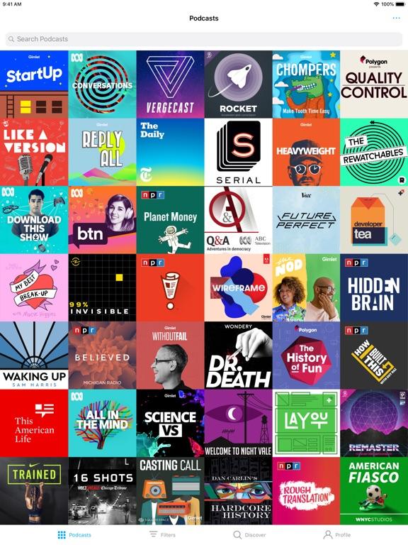 Pocket Casts Screenshots