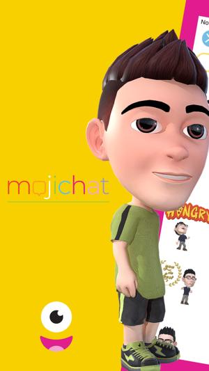 Mojichat:表情3D动态表情包作到暴躁工图片