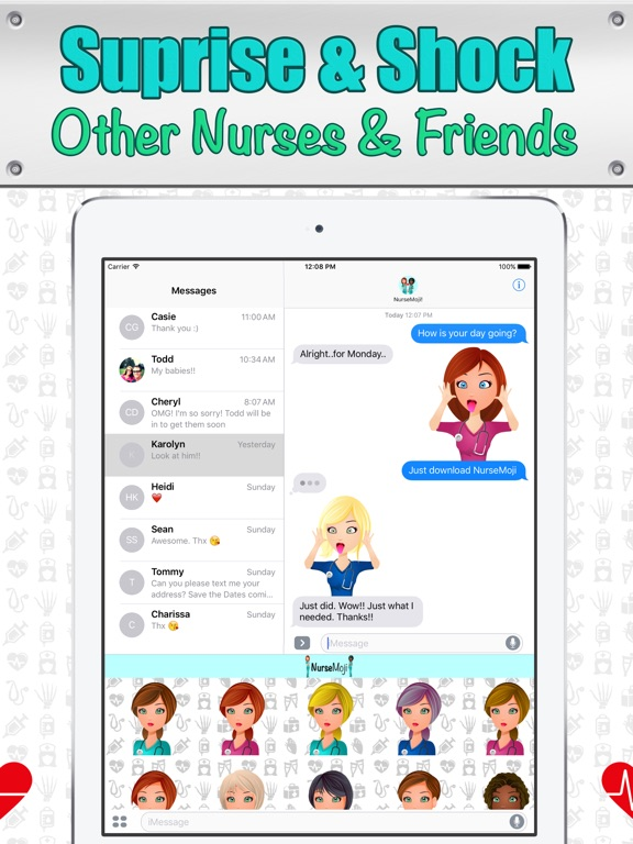 NurseMoji - All Nurse Emojis and Stickers! Screenshots