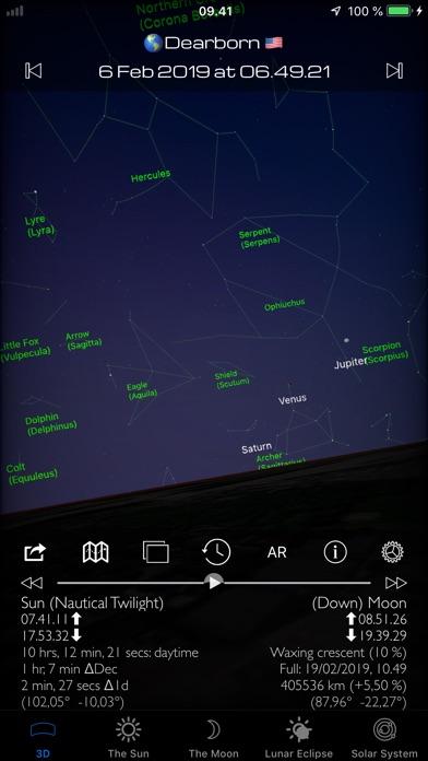 Sun and Moon Sky Finder AR Pro Screenshots