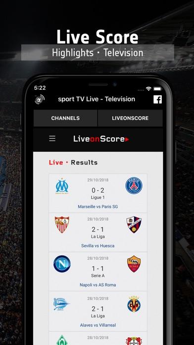 sport TV Live - Television Screenshots