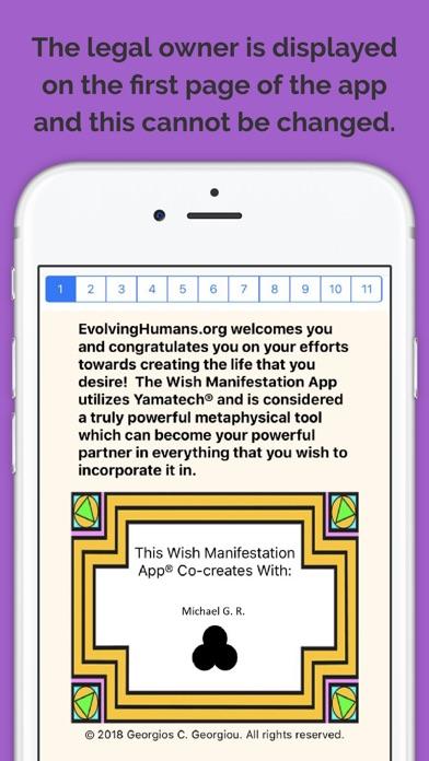 Wish Manifestation Screenshots