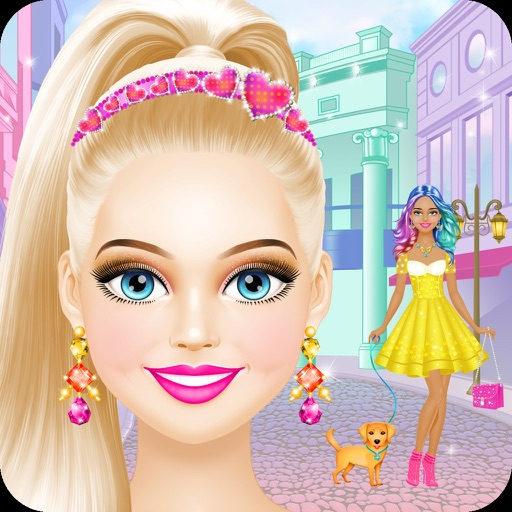 Girl dress up games and makeup
