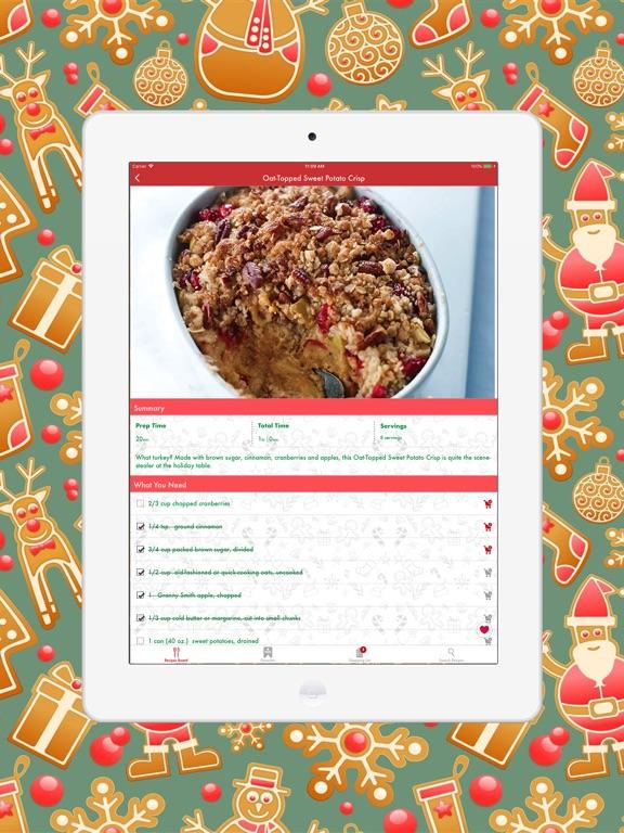 Christmas Planner Cook Book Screenshots