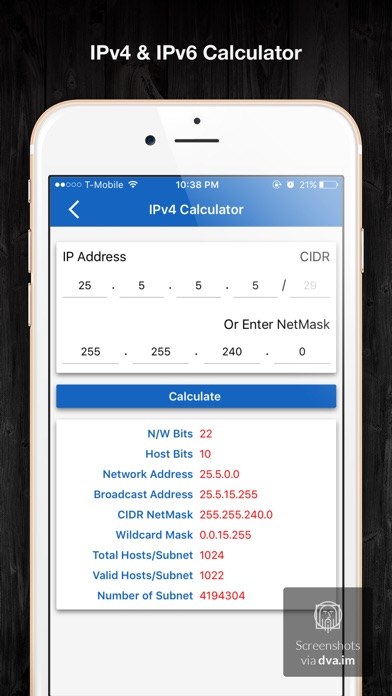 ip calculator pro app 截图