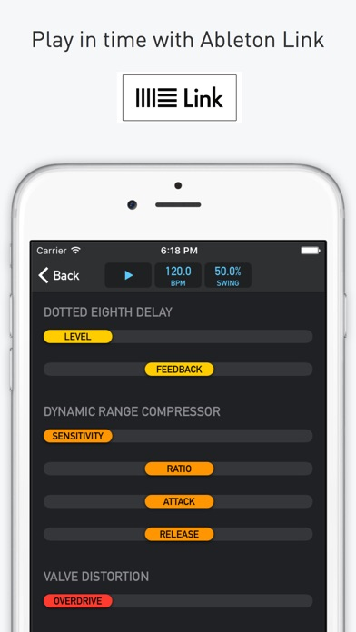 MoDrum - Synthesis-based Drum Machine Screenshots