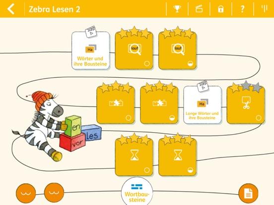 Lesen lernen 2 mit Zebra Screenshots