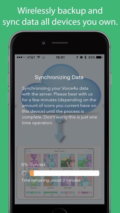Voice4u AAC Screenshots