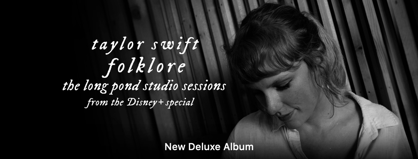 folklore: the long pond studio sessions (from the Disney+ special) [deluxe edition] by Taylor Swift