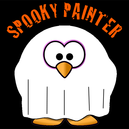 Spooky Painter - Coloring Book - Free