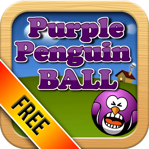 Purple Penguin Ball