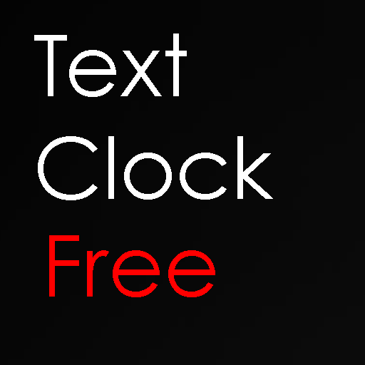 Text Clock Free icon