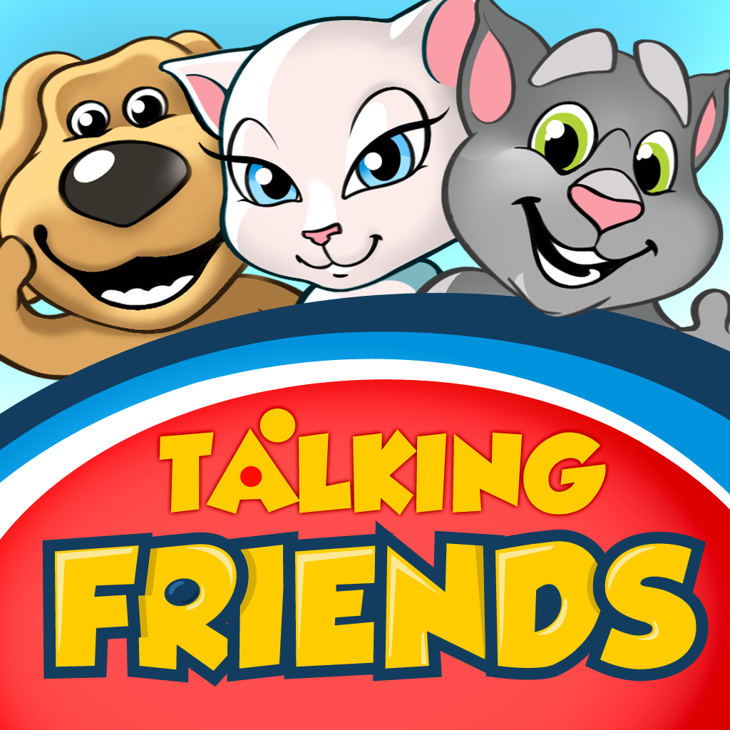 Talking Friends Cartoons icon