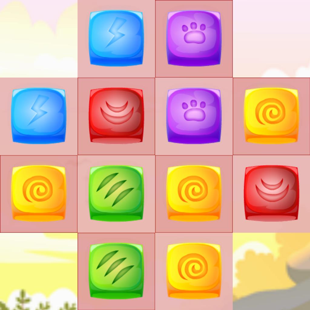 2048 Candy Gems - Unique Match-3 Logic Puzzle