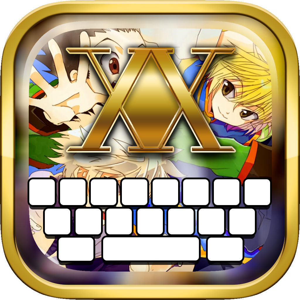 KeyCCM – Manga & Anime : Custom Color & Wallpapers Keyboard Themes For The Hunter x Hunter Style