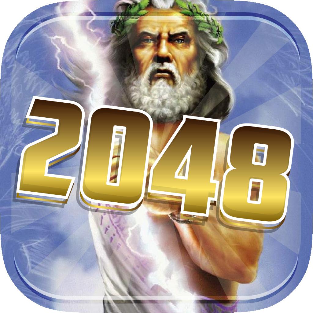 """2048 Greek Gods and Mythology Legend : """" Epic of The Legendary Edition """""""