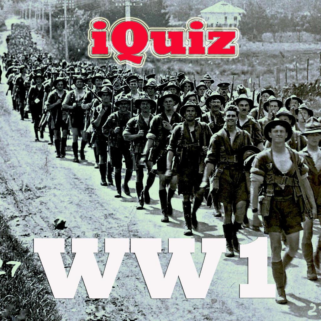 iQuiz for World War I ( History Around World trivia )