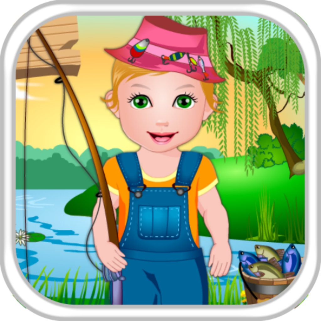 Baby Juliet Fishing Day icon