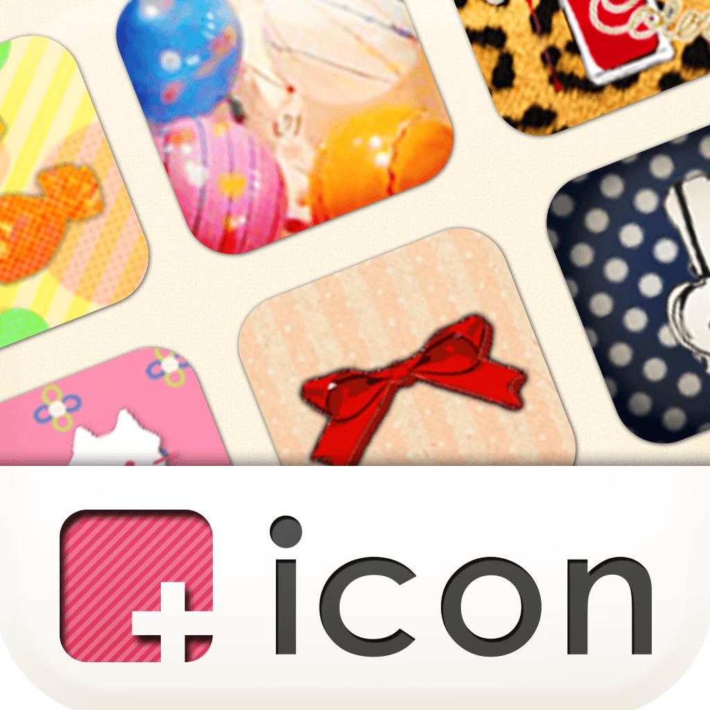 [+]icon (plus icon) Icon and Wallpaper Customization App