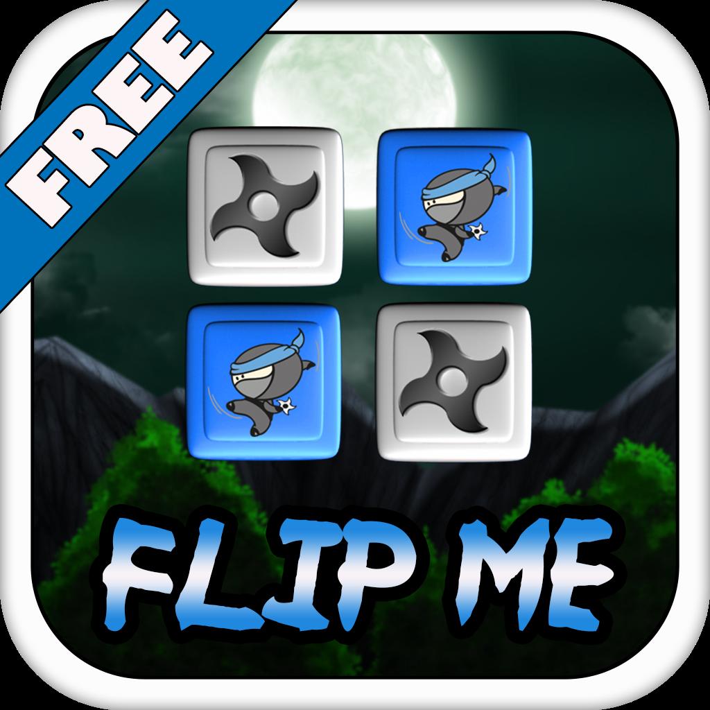 Ninja Assassin Shuriken Flip Battle Free : Flips Tile Puzzle Games For Every One