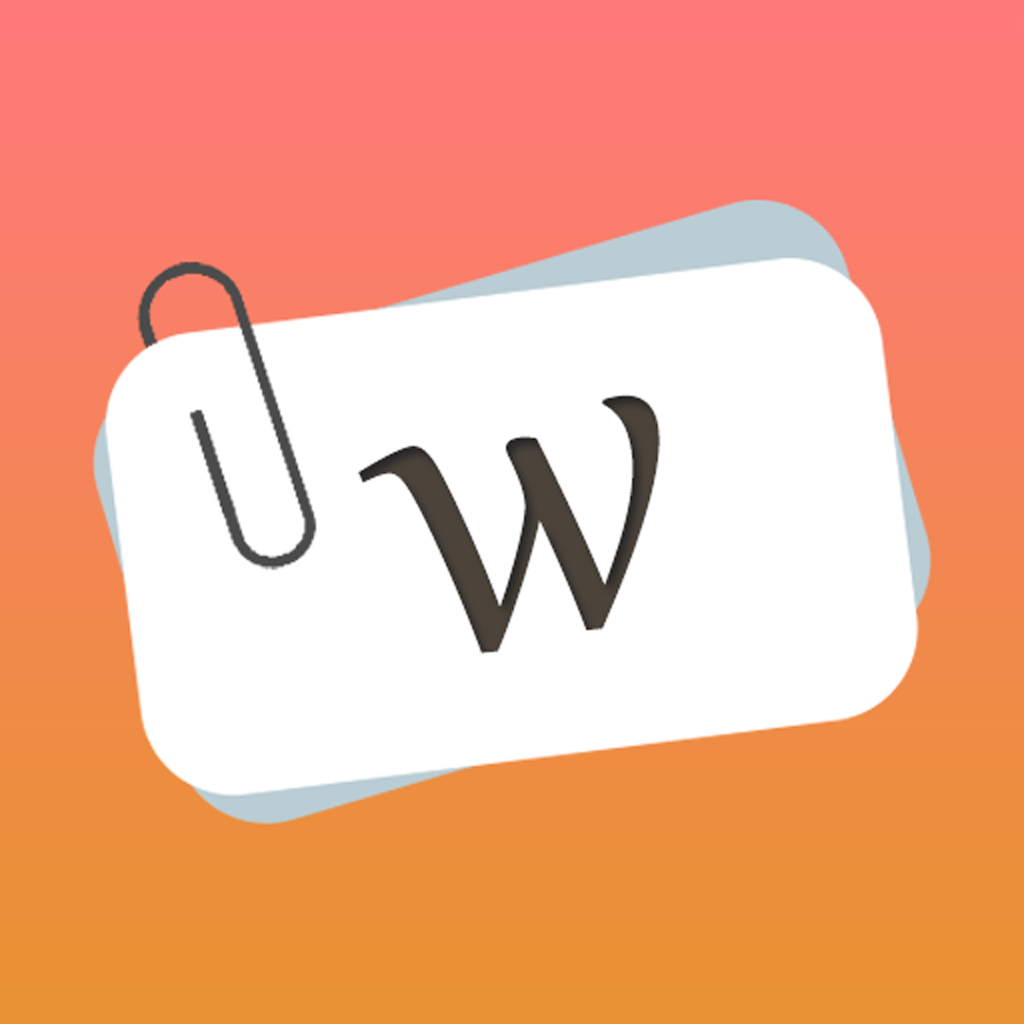 Word Cards - Learn new words fast and easy