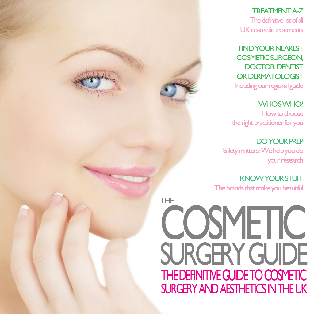 The Cosmetic Surgery Guide - The definitive guide to cosmetic surgery and aesthetics in the UK icon