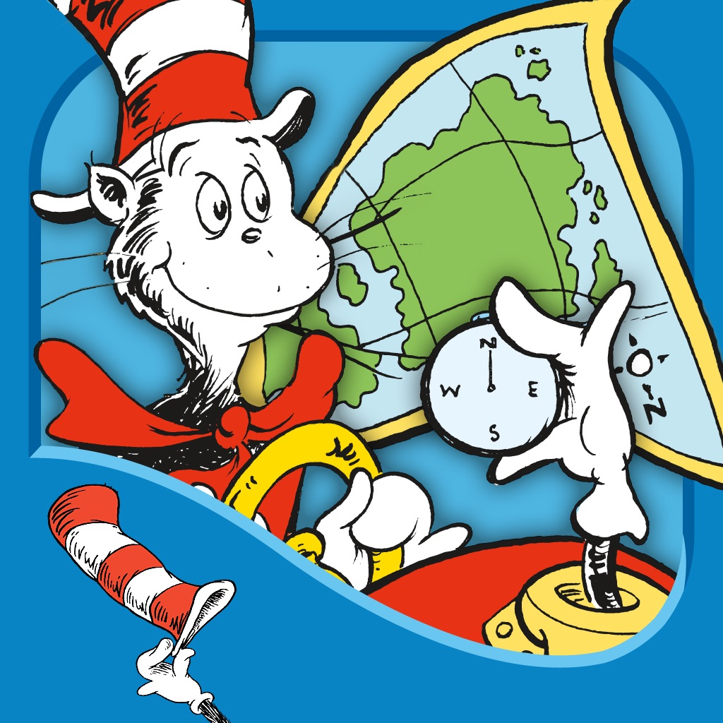 There's a Map on My Lap! (Dr. Seuss/Cat in the Hat) icon