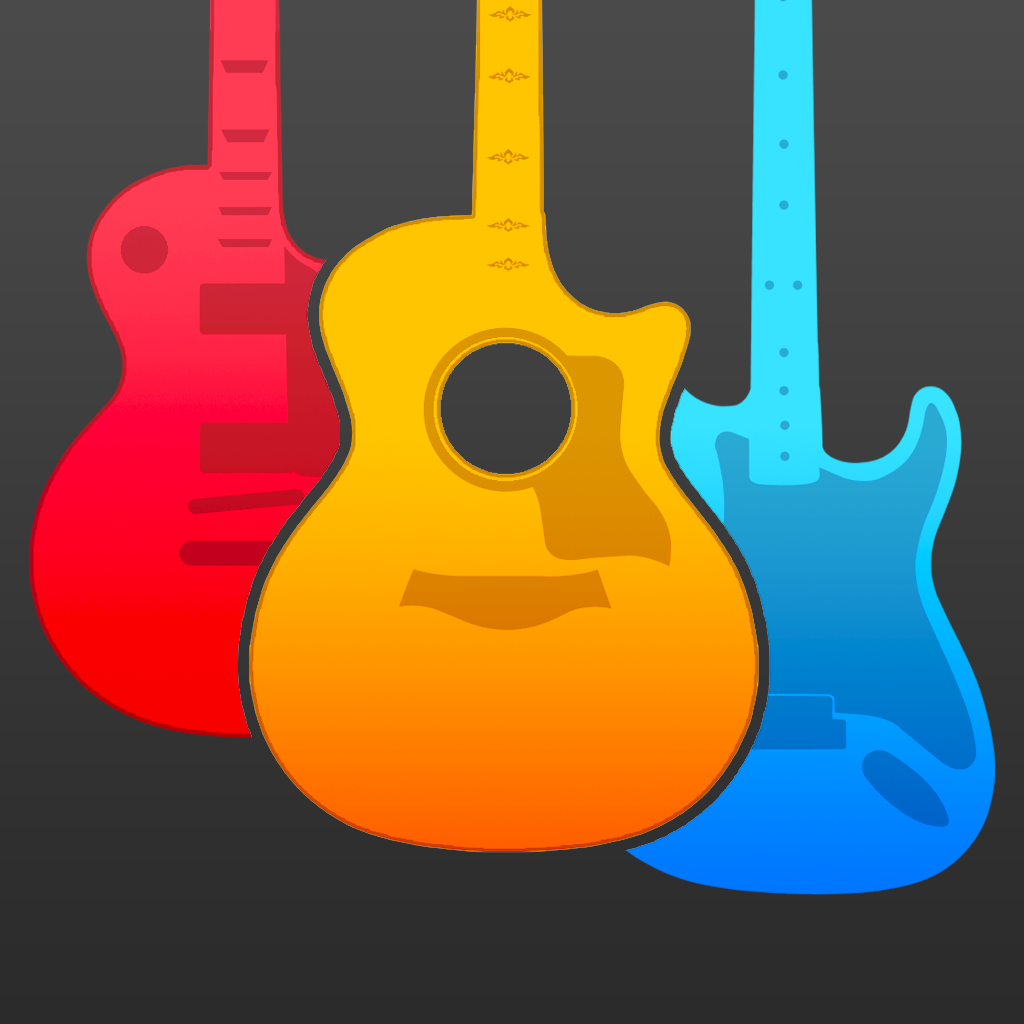 Guitar Elite Pro - play songs and chords on premier steel acoustic, vintage rock electric, and nylon strings classical virtual guitars