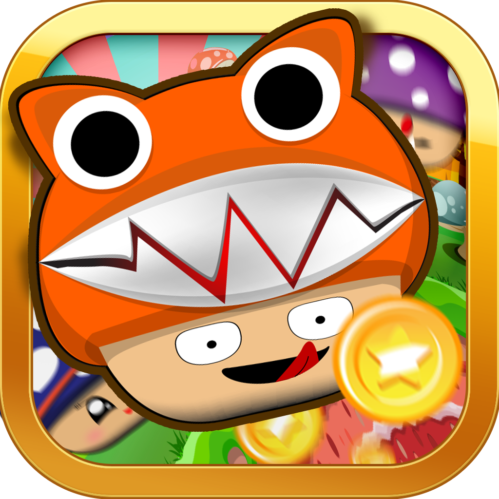 "Mushroom Land Impossible Dash ""Jump & Adventure Edition"""