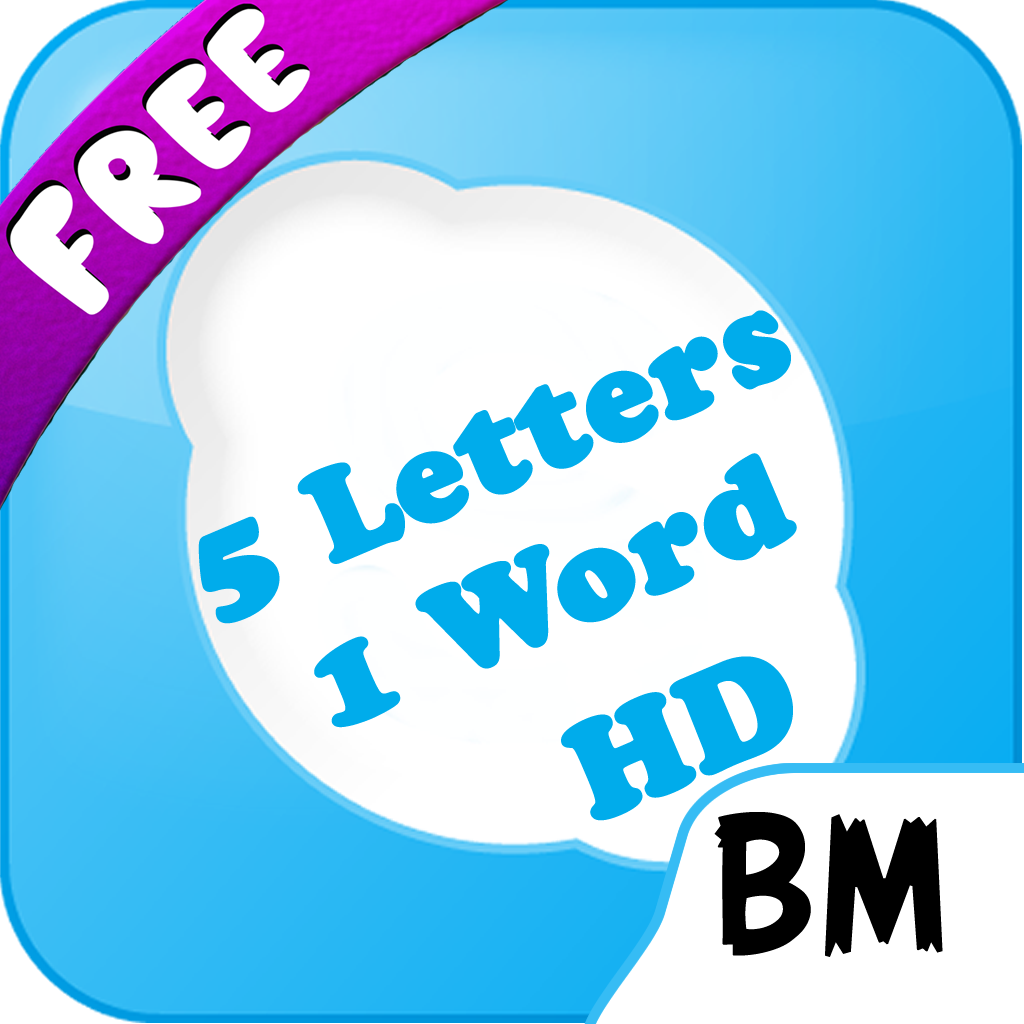 5 Letters 1 Word HD Free