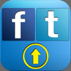 FTupdater - Facebook/Twitterにポストするだけの簡単アプリ