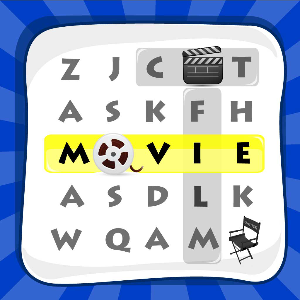 "Word Search At The Hollywood Movie ""Super Classic Wordsearch Puzzle Games"""