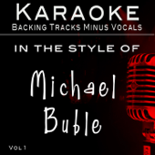 Hits of Michael Buble' Vol 1 (Backing Tracks)