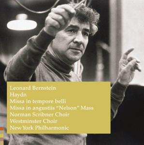 """Leonard Bernstein, Norman Scribner Choir, New York Philharmonic & Westminster Choir - Haydn: Missa In Tempore Belli; Missa In Angustiis """"Nelson"""" Mass"""
