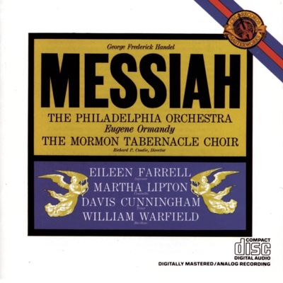 Handel: Messiah - Eugene Ormandy, Mormon Tabernacle Choir & The Philadelphia Orchestra album