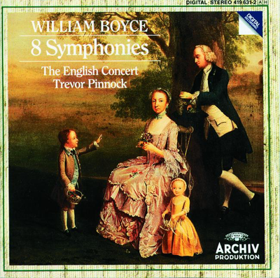 Symphony No.1 In B Flat Major: Allegro - The English Concert & Trevor Pinnock song