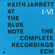 When I Fall In Love - Keith Jarrett