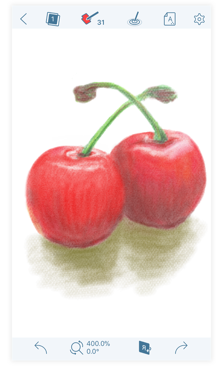 Colored Pencil App Store Story
