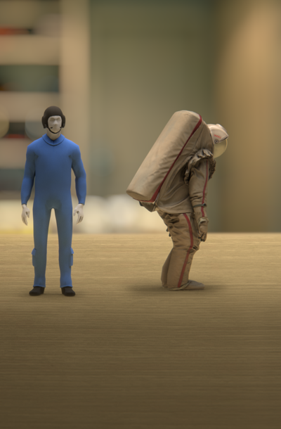 A Soviet Spacesuit: Explore in Augmented Reality