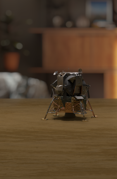 The Original Lunar Lander: Explore in AR
