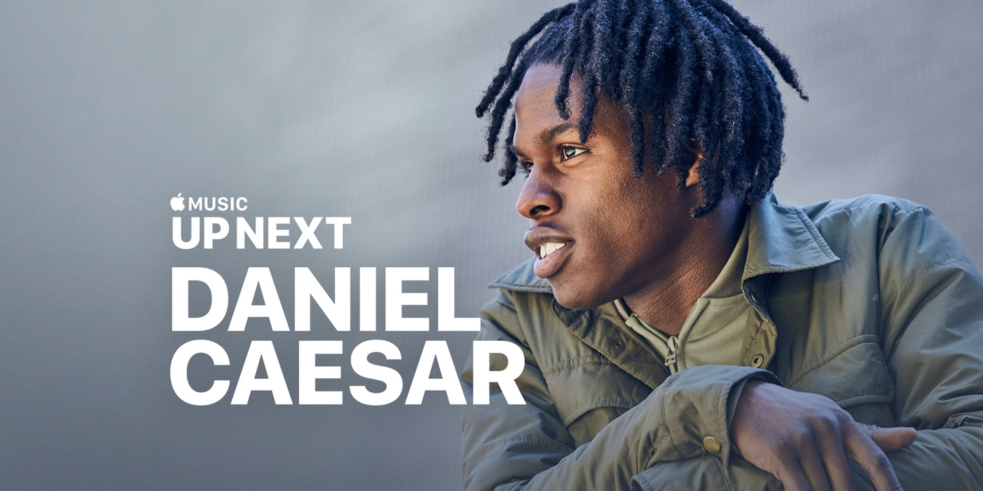 up next daniel caesar をapple musicで