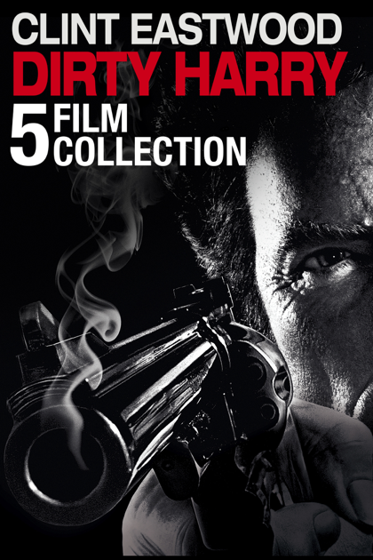 5-Film Clint Eastwood Dirty Harry Collection (Digital HD)