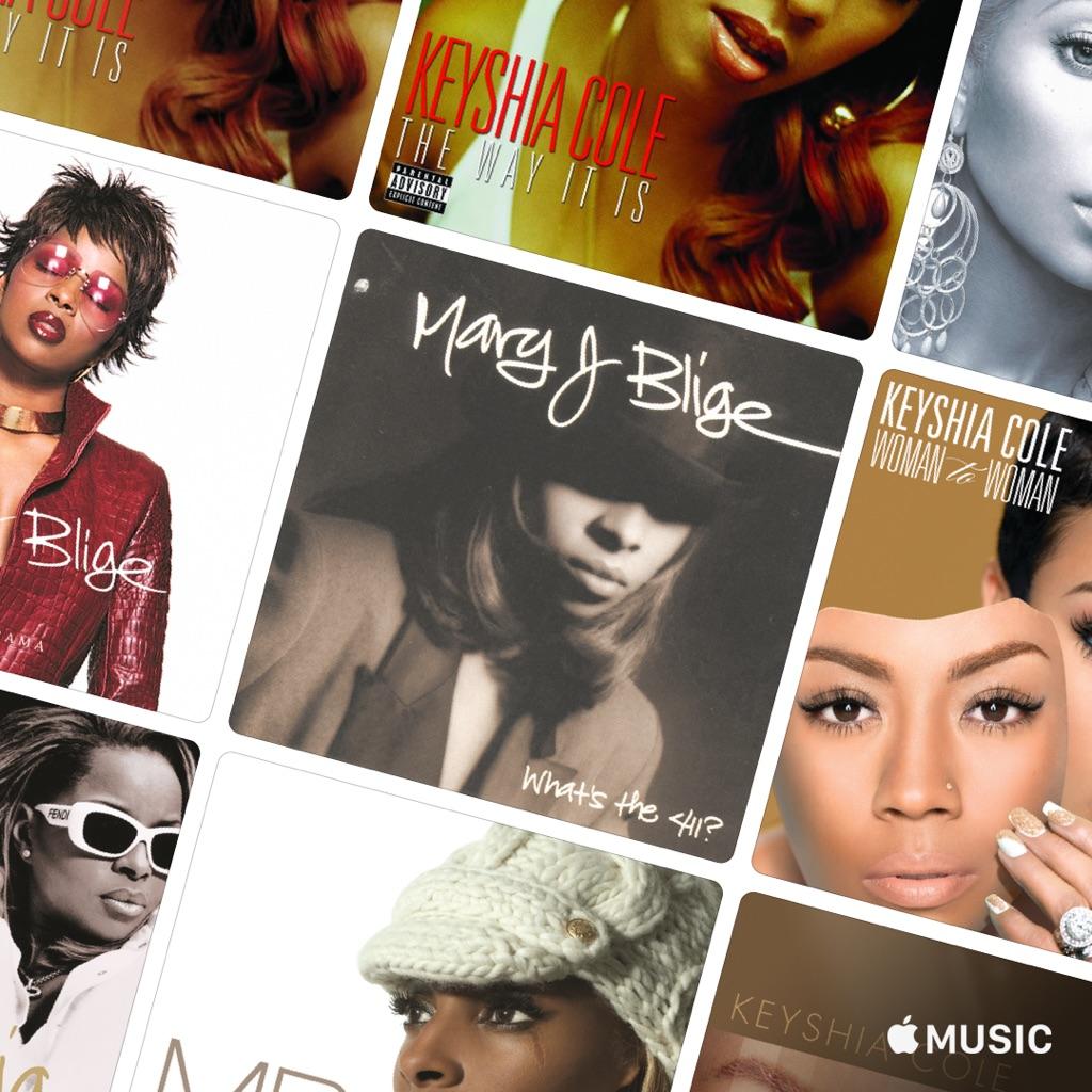Keyshia Cole Vs. Mary J. Blige