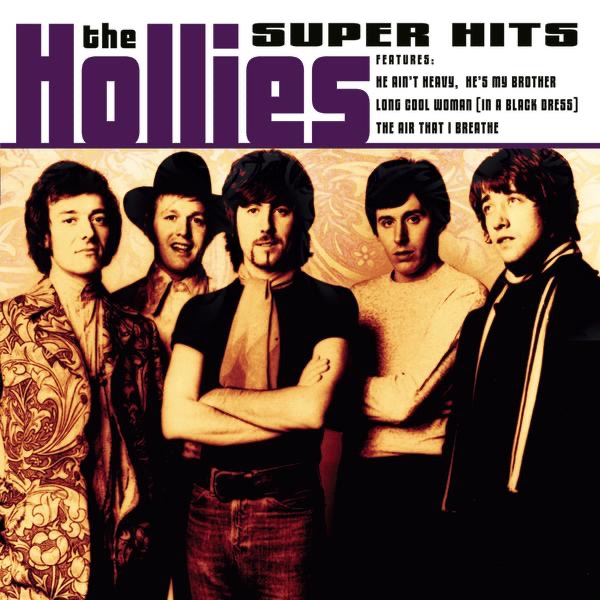 The hollies long cool woman in a black dress liver
